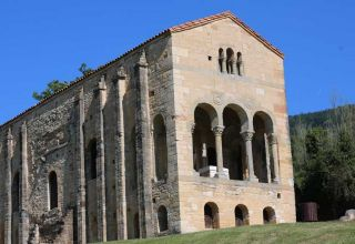 The Church of Saint Mary of Naranco - Pre Romanesque Art - Asturias